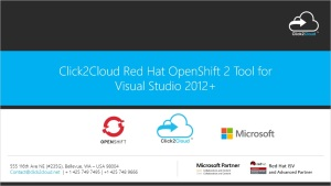 Click2Cloud Docker and Kubernetes based DevOps Tool for Visual Studio 2012+