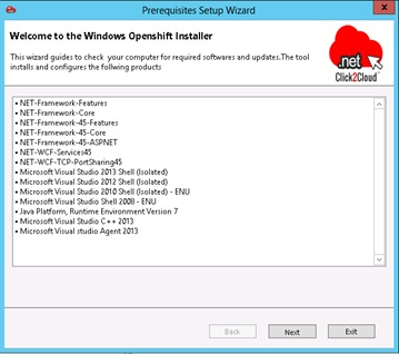 Installing Red Hat OpenShift Environment using Click2Cloud Auto Script - Install Win Node - wizard.jpg
