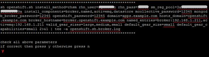 Installing Red Hat OpenShift Environment using Click2Cloud Auto Script - Linux Broker installation - Install broker _ Broker Log.jpg