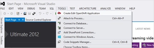 Launch Visual Studio 2012 Plugin